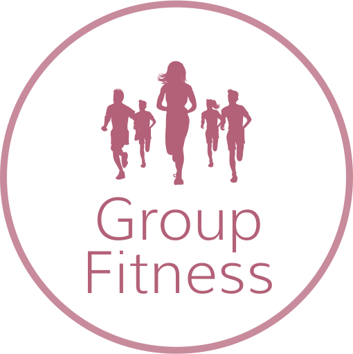Group Fitness Text Graphic
