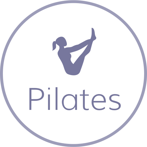 Pilates Text Graphic